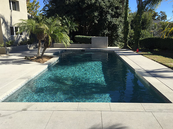 Complete Remodel - This pool was cracked so bad we built a pool inside a pool.