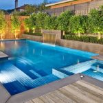 Rectangular pool design by San Marcos